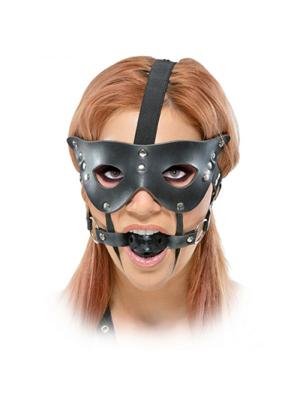 FF MASQUERADE MASK AND BALL GAG 44626