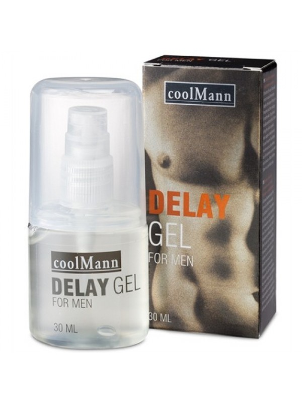 Gel Καθυστέρησης - COOLMANN DELAY GEL 30ML S4F00769