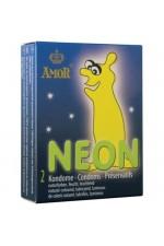 Προφυλακτικά - NEON GLOWING 2ΤΕΜ S4F00727