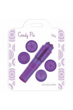 CANDY PIE PULSY VIBRATOR PURPLE S4F04376