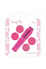 CANDY PIE PLEASY VIBRATOR PINK S4F04377