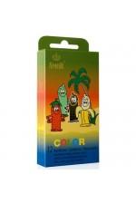 Πακέτο με 12 πολύχρωμα προφυλακτικά S4F04834